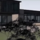 Sonoma Modern Black House No1 rendering